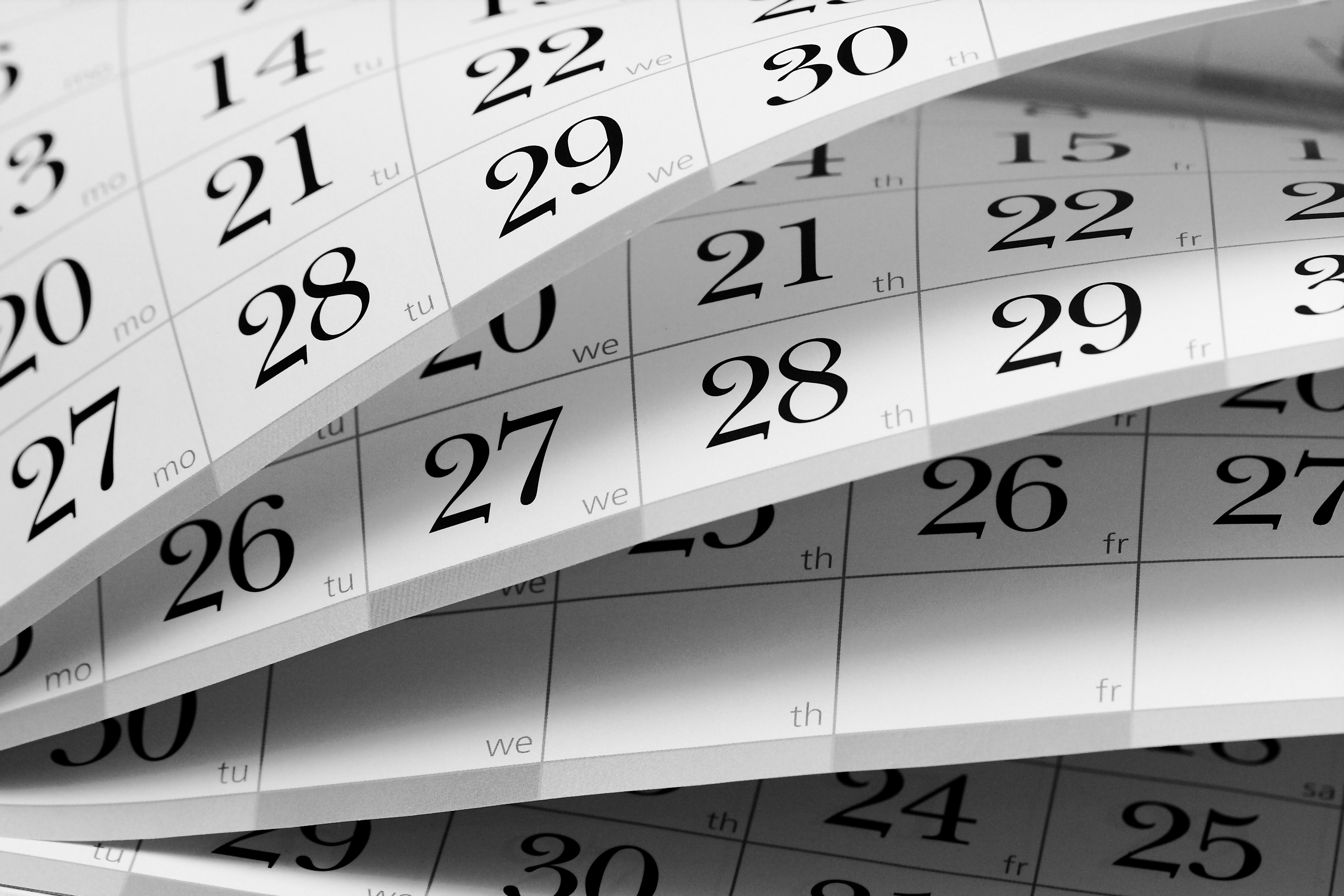 Calendars District Calendars