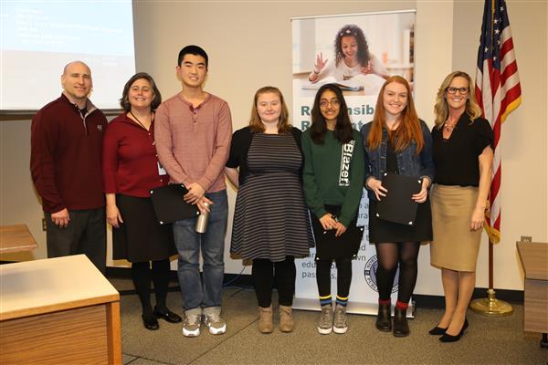National Merit Scholar honorees (1/31/18)