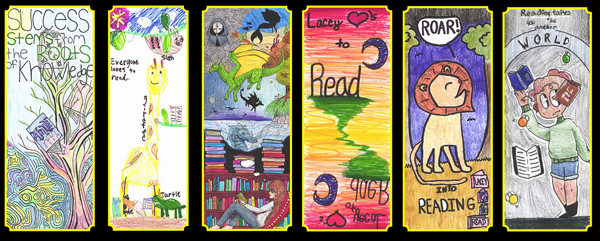 Check out the 2019 Lacey Loves to Read Bookmark Winners!