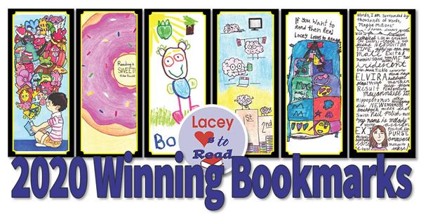 See the Winning Bookmarks from the 2020 Bookmark Contest!