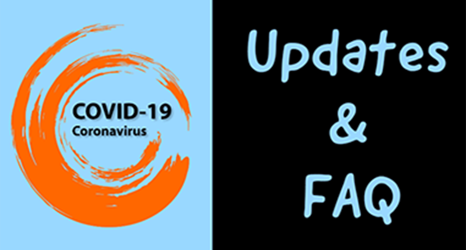 COVID-19 latest updates & FAQ