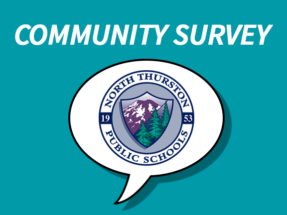 Community Survey Graphic with NTPS Logo