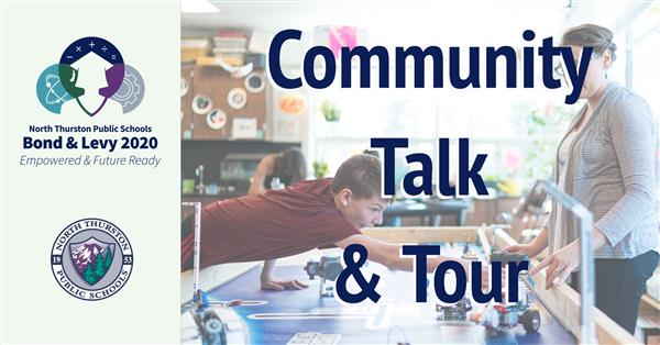 Bond & Levy Community Talk & Tour