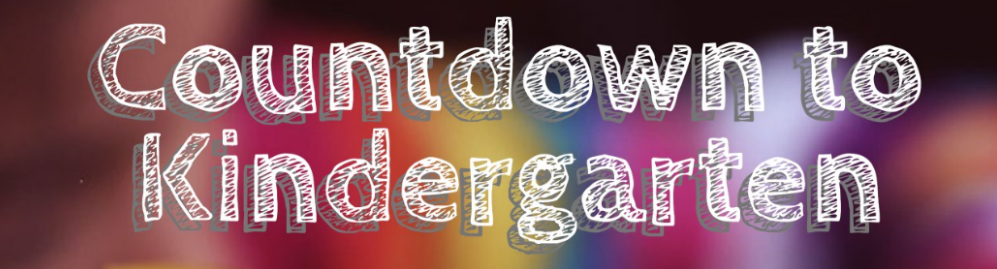 Countdown to Kindergarten event logo