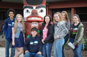 Nisqually Middle School Students