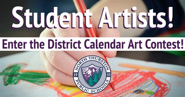 Student Artists! Enter the District Calendar Art Contest!