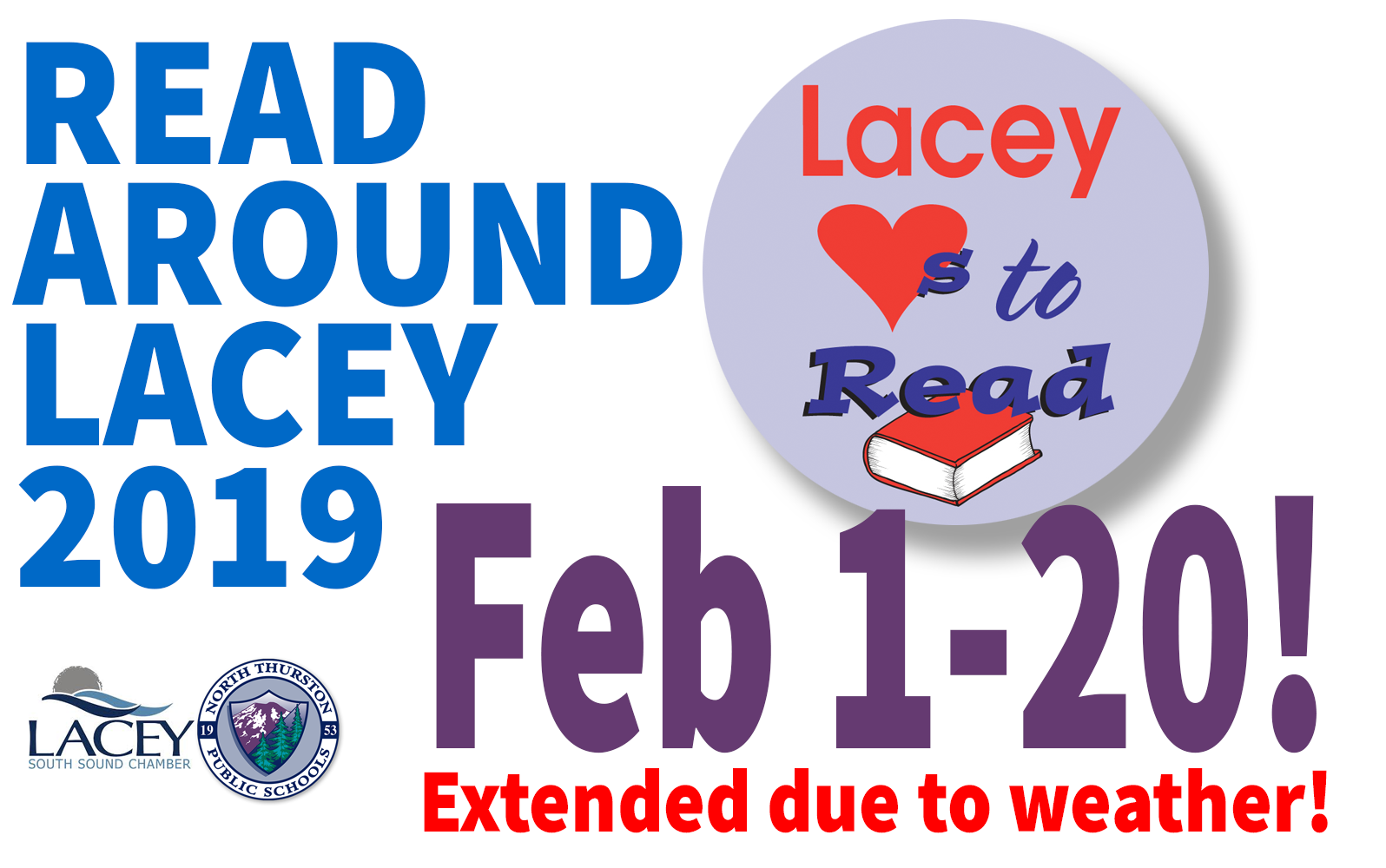 Read Around Lacey 2019 - February 1-20!