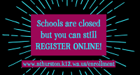 Register online at www.nthurston.k12.wa.us/enrollment