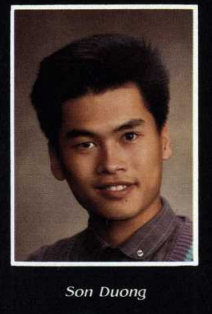 Son Duong's 1987 Yearbook Photo