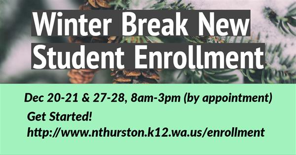 Winter Break New Student Enrollment!