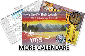 Click here for access to all of our calendars!