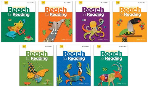 The series of Reach for Reading Books