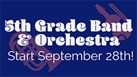 Mt. View Fifth Graders! Click here to watch the videos on Band and Orchestra for this year!