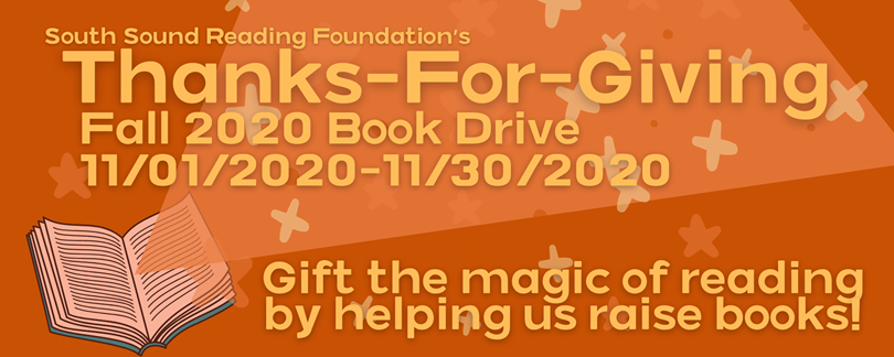 South Sound Reading Foundation Book Drive!