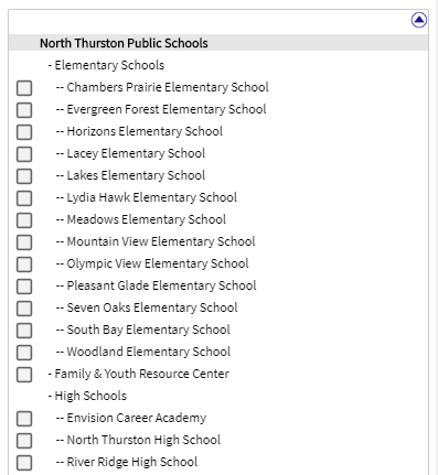 school selection list