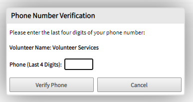 enter phone number pin