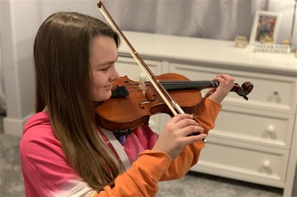 Orchestra Mentors are Building Community Virtually