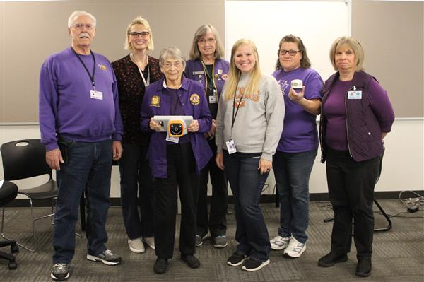 Lacey Lions Club members