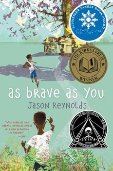 Book Cover for the Jason Reynolds book 'As Brave as You'
