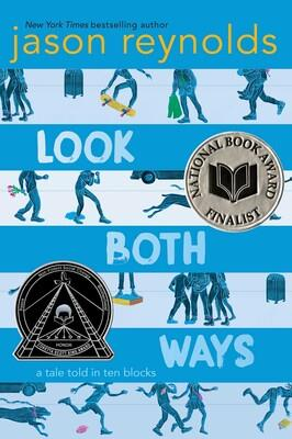Book Cover for the Jason Reynolds book 'Look Both Ways'