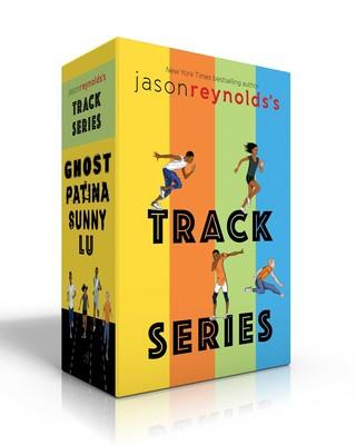 Book Cover for the Jason Reynolds book 'Track Series'