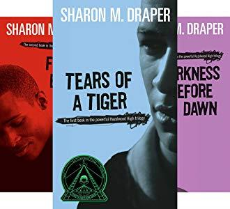 Covers of the Hazelwood High Trilogy by Sharon M. Draper
