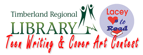 Timberland Regional Library and Lacey Loves to Read Teen Writing & Cover Art Contest Logo