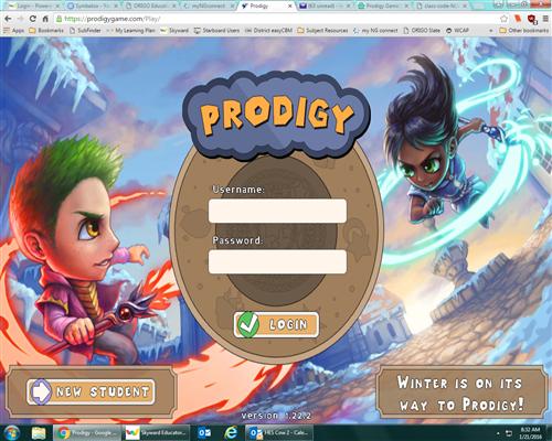 Prodigy Math Game New Toys : Gans lauren prodigy game