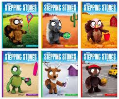 Covers of 6 different Stepping Stones books.